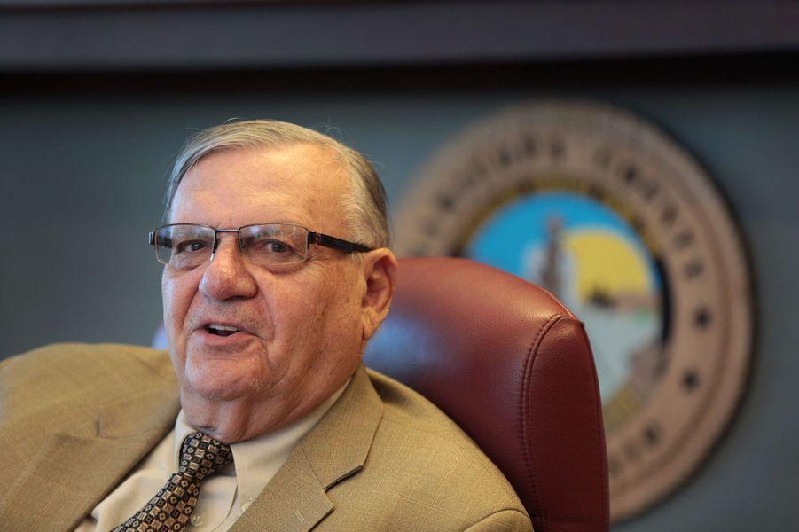 Joe Arpaio, le shérif et directeur de Tent City