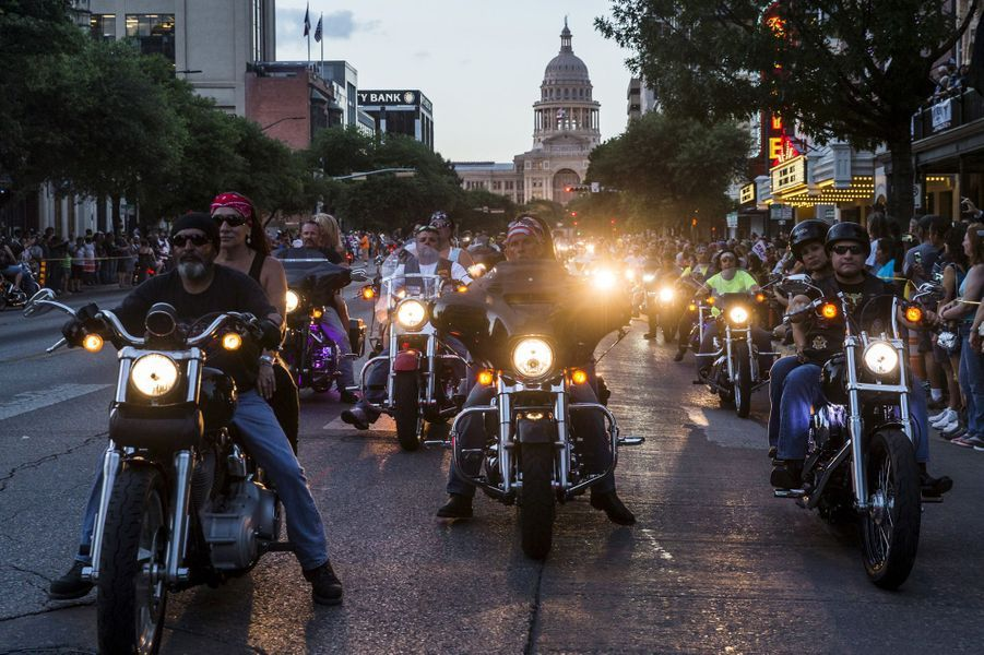 Bienvenue au rassemblement Republic of Texas Biker Rally, à Austin