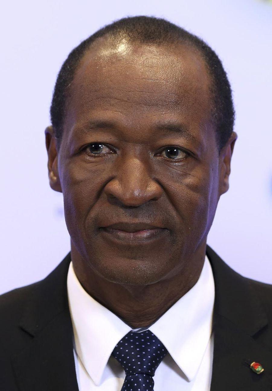 Blaise Compaoré (président du Burkina Faso de 1987 à 2014) exilé à Abidjan