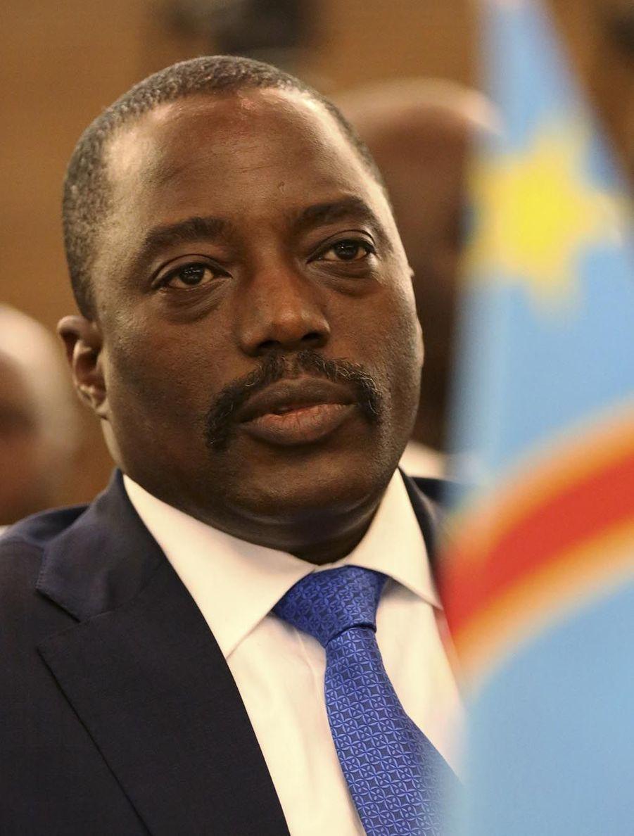 Joseph Kabila (président de la RDC depuis 2001)