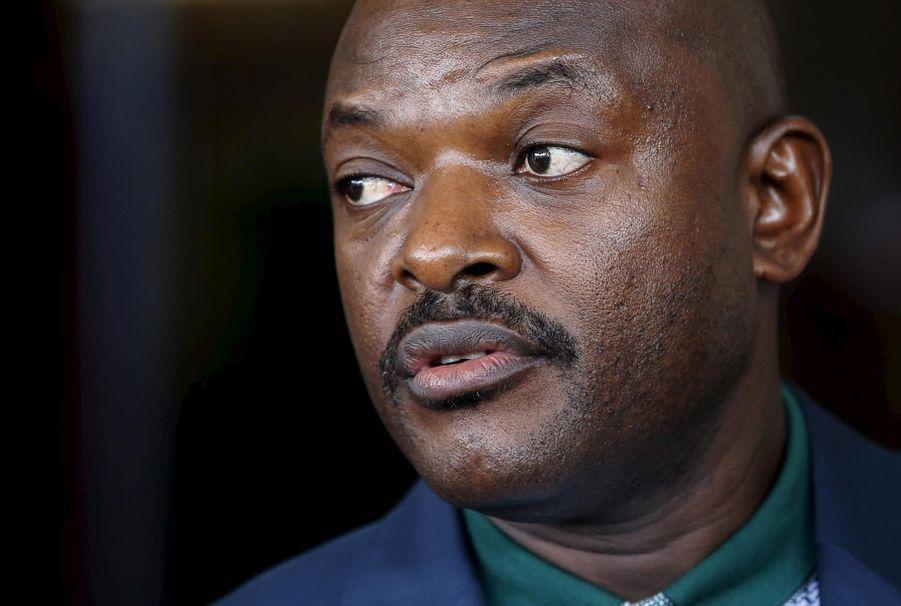 Pierre Nkurunziza (président du Burundi depuis 2005)