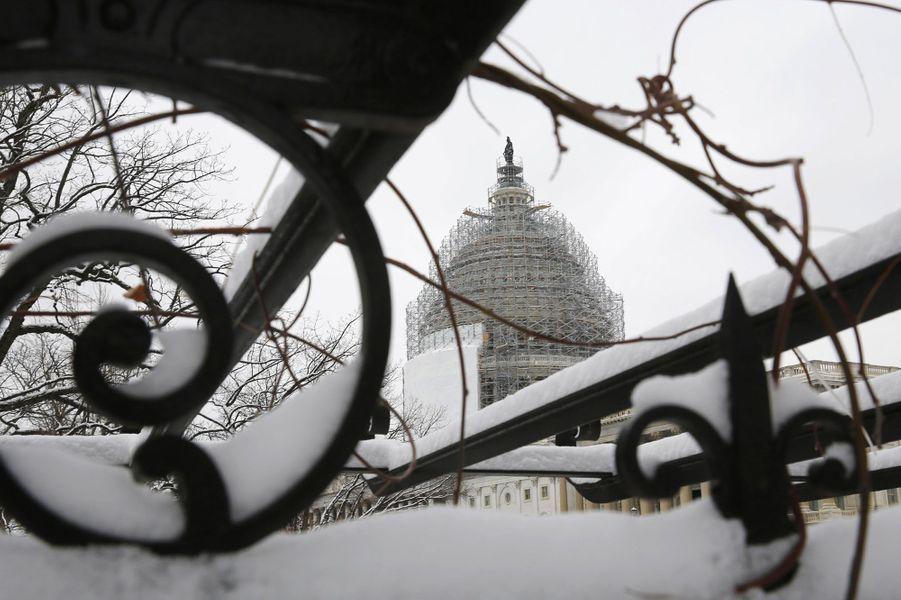 Coup de froid sur les Etats-Unis