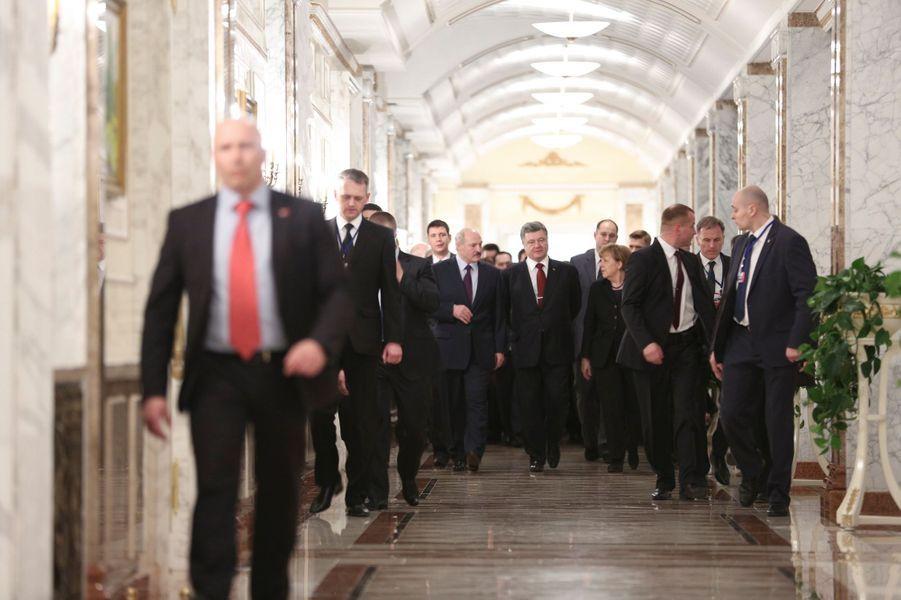 Dans les coulisses du sommet de Minsk