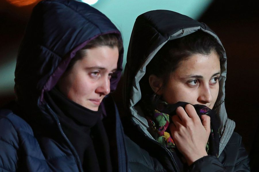 Greta Ramelli et Vanessa Marzullo sont rentrées en Italie après six mois de captivité