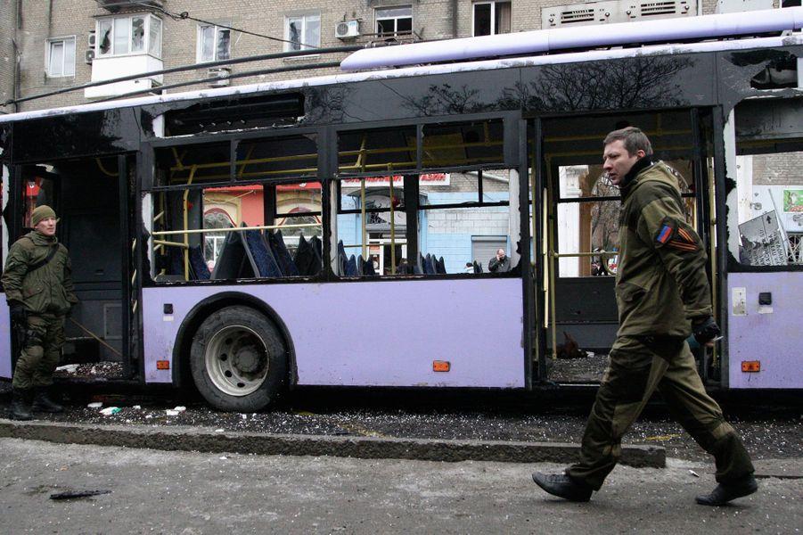Treize personnes ont perdu la vie dans une attaque à Donetsk