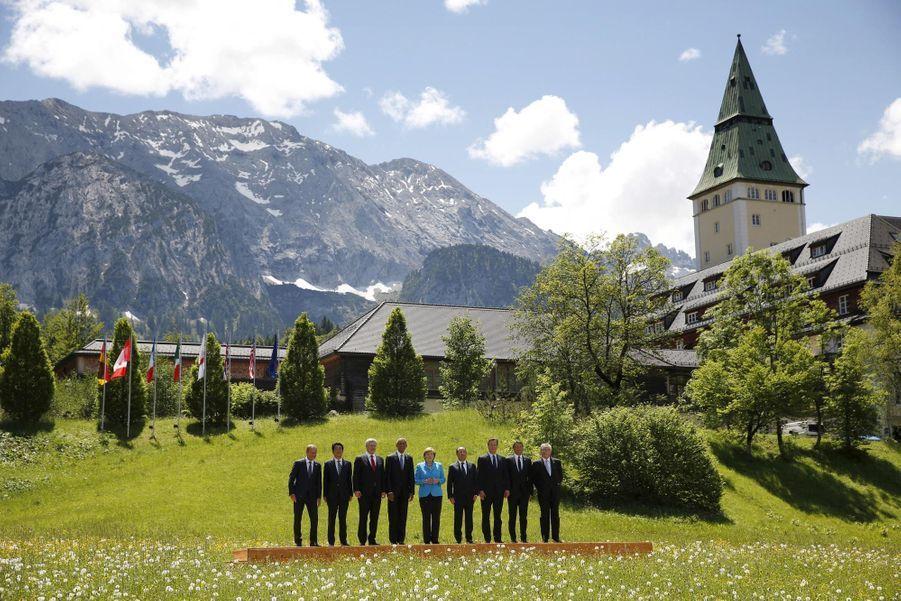 G7 champêtre dans les Alpes bavaroises