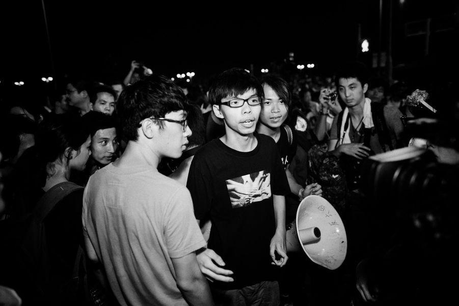 Le jeune leader Joshua Wong