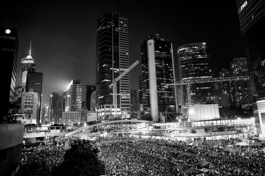 Rassemblement, samedi 4 octobre, au quartier Admiralty