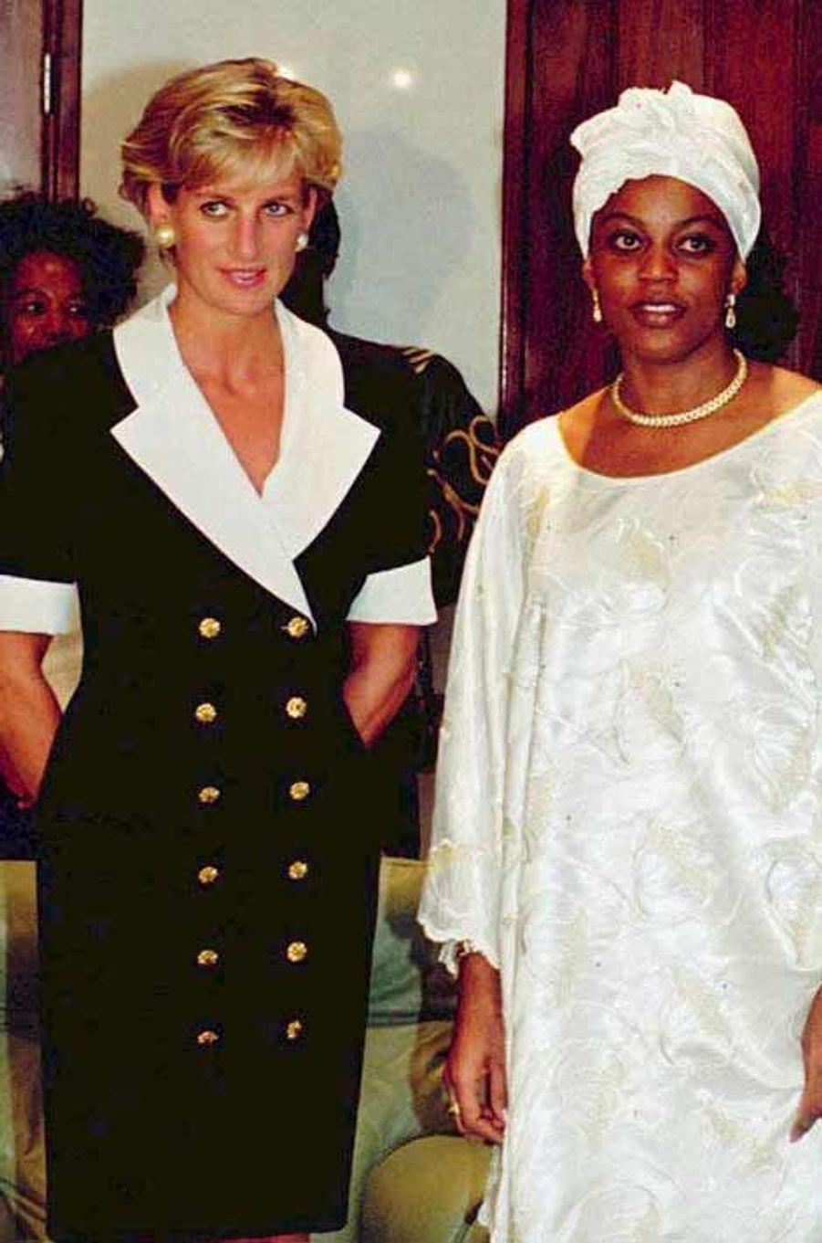 Lady Di et Paula dos Santos en 1997
