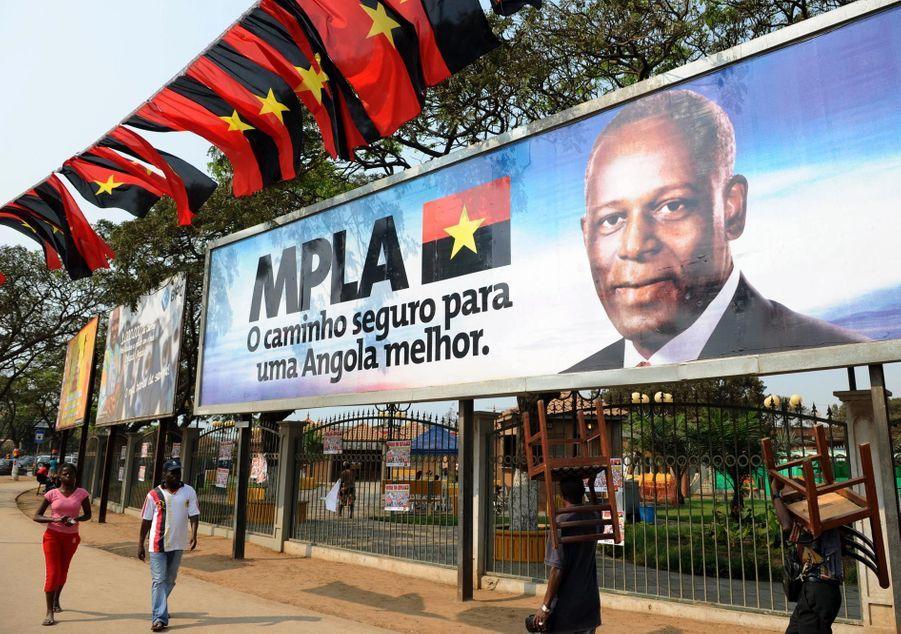 Une affiche de campagne en 2008