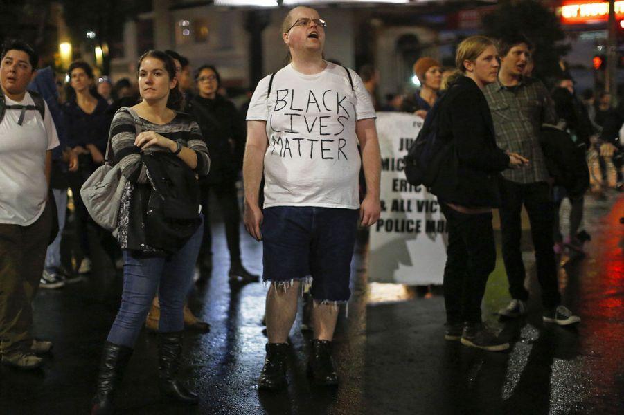 """""""Justice pour Eric Garner. La vie des Noirs compte"""""""