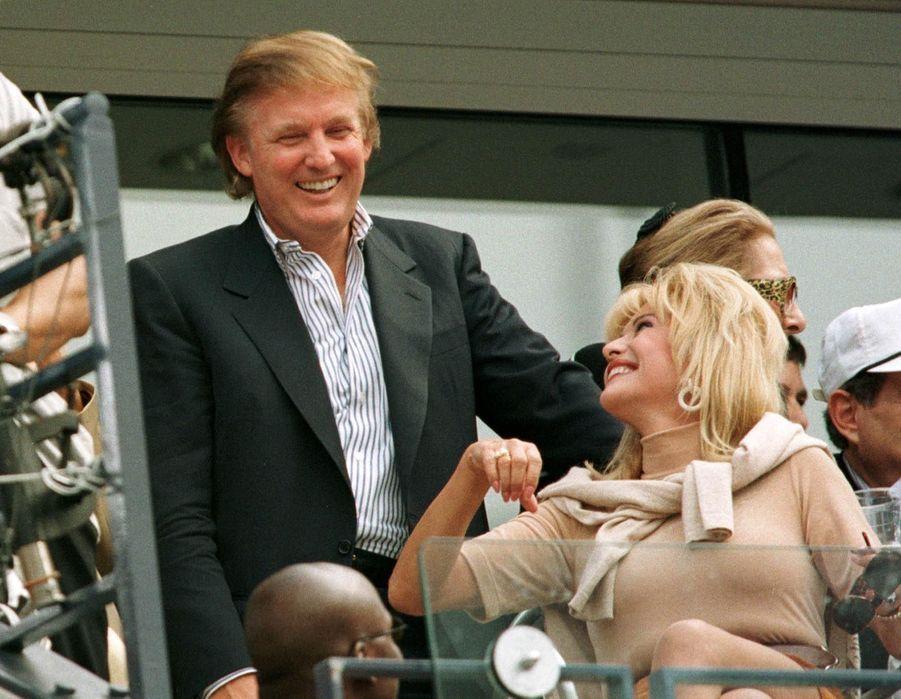 Donald Trump et son ex-femme Ivana Trump en septembre 1997