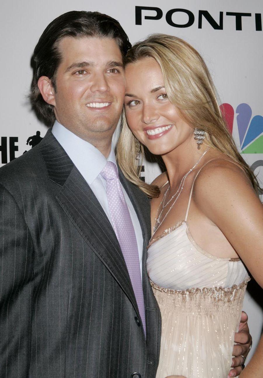 Donald Trump, Jr. et sa femme Vanessa en juin 2006