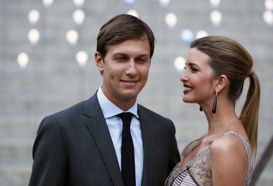 Ivanka Trump et son mari Jared Kushner en avril 2012
