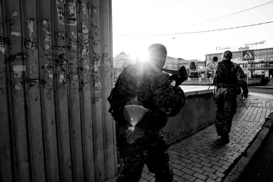 "La ""bataille navale"" de Donetsk, par Alvaro Canovas"