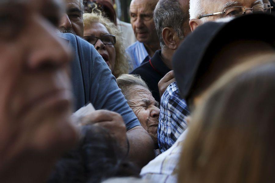 La détresse des retraités grecs