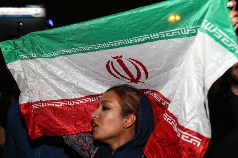 La liesse à Téhéran