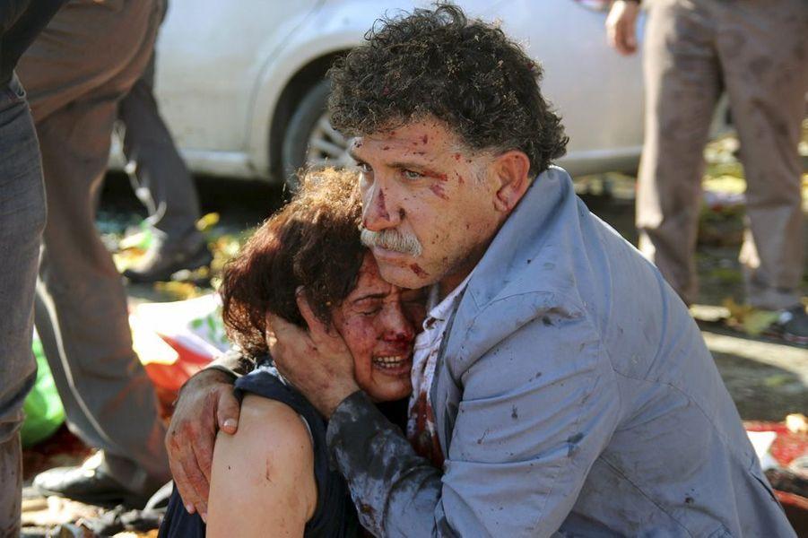 10 octobre. Double-attentat à Ankara, en Turquie