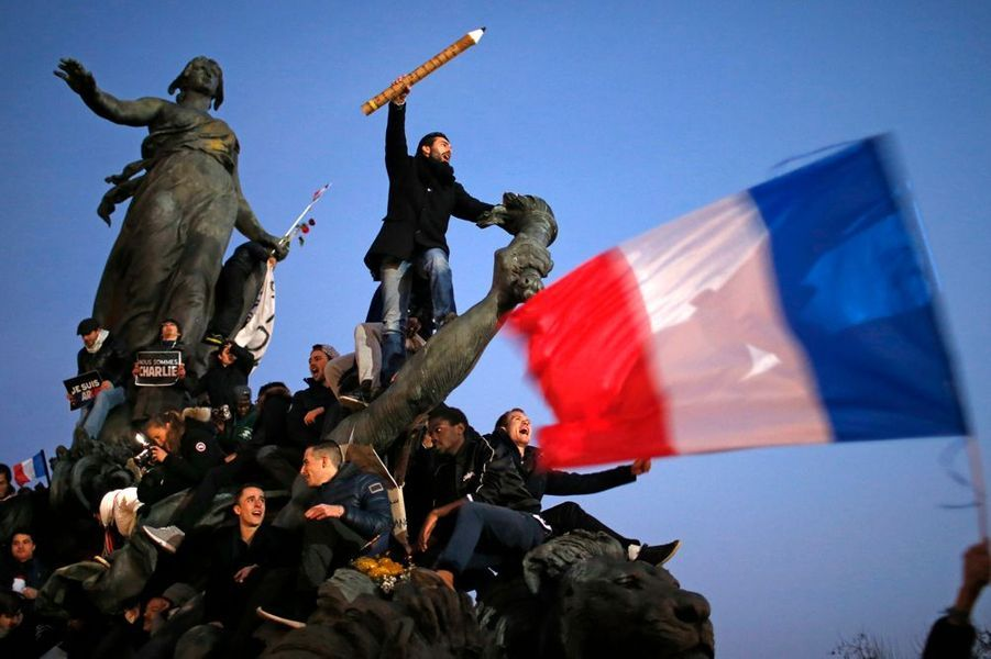 """11 janvier. La France est """"Charlie"""""""
