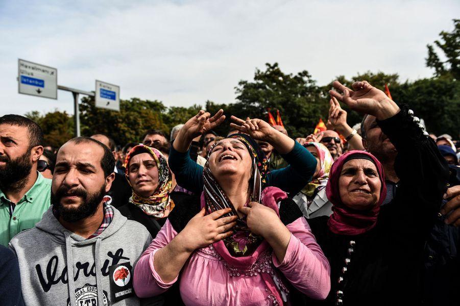 11 octobre. La détresse du peuple turc