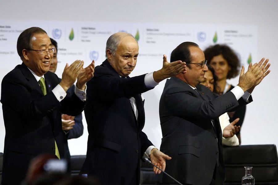 12 décembre. Accord trouvé à la COP21