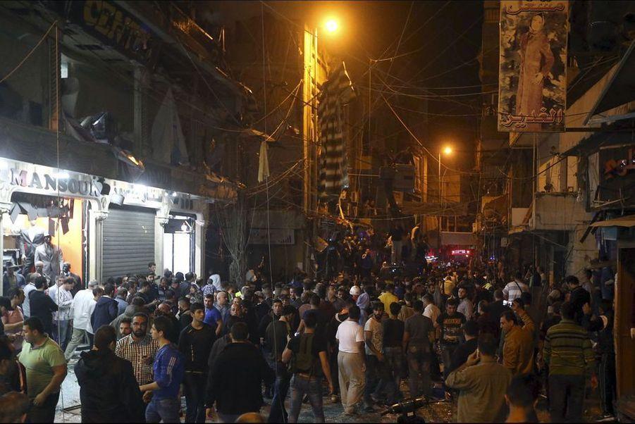 12 novembre. Attentat meurtrier à Beyrouth, au Liban