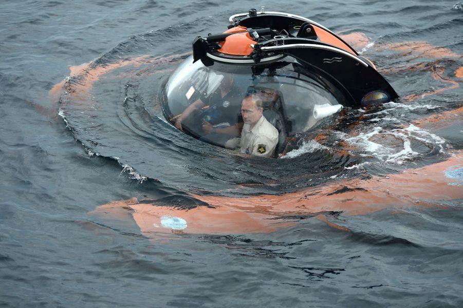 18 août. L'insubmersible Vladimir Poutine