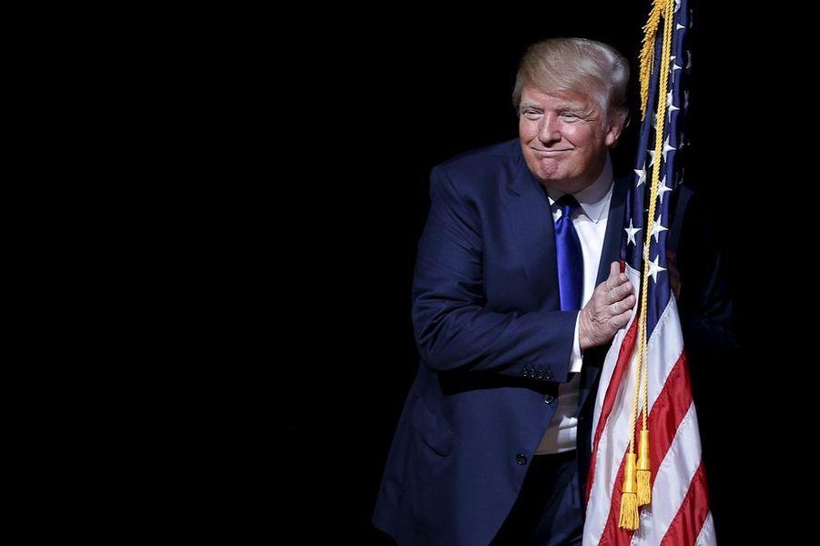 19 août. Donald Trump, chouchou des sondages pour la primaire républicaine aux Etats-Unis