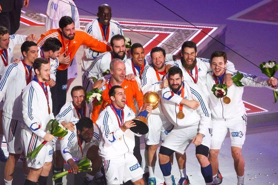 1er février. La France remporte le championnat du monde de handball