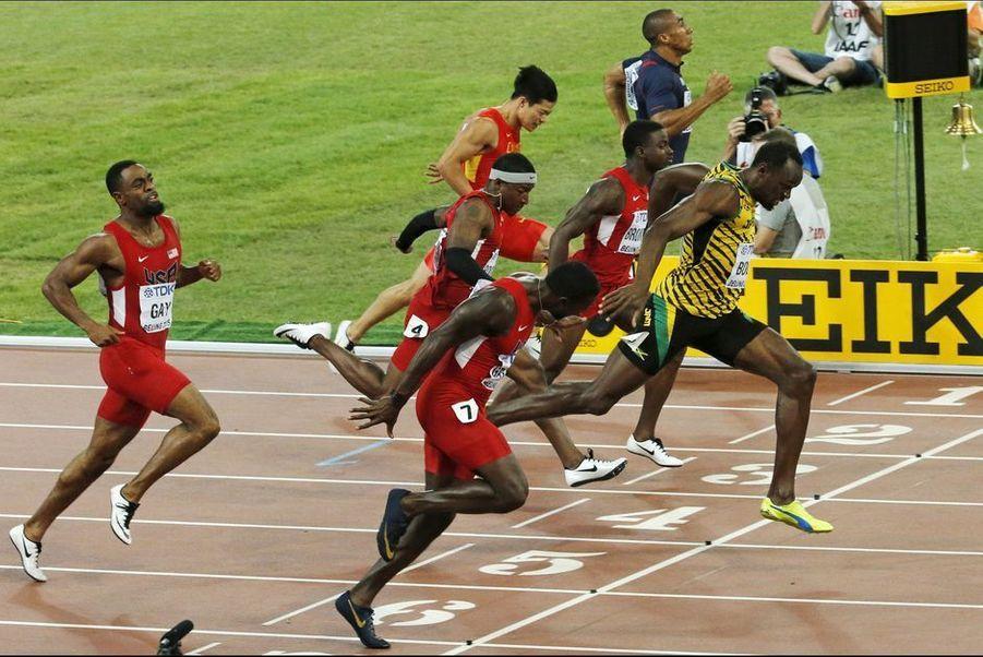 23 août. Usain Bolt reste le roi du 100 mètres à Pékin lors des championnats du monde