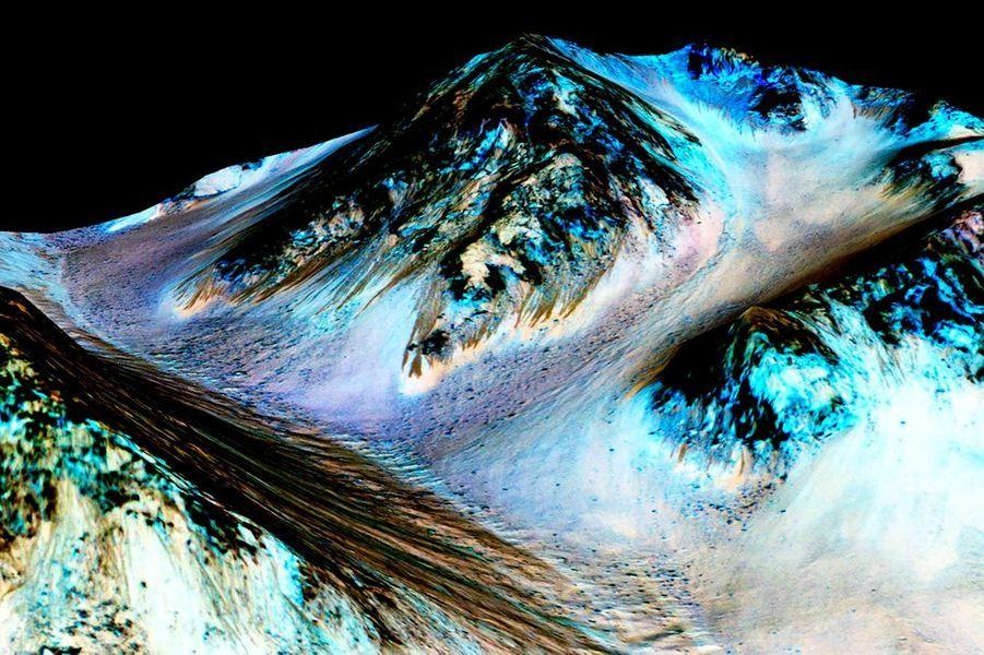 28 septembre. De l'eau sur Mars