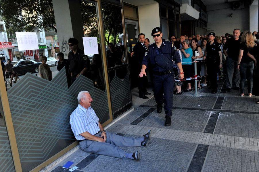 3 juillet. La détresse du peuple grec