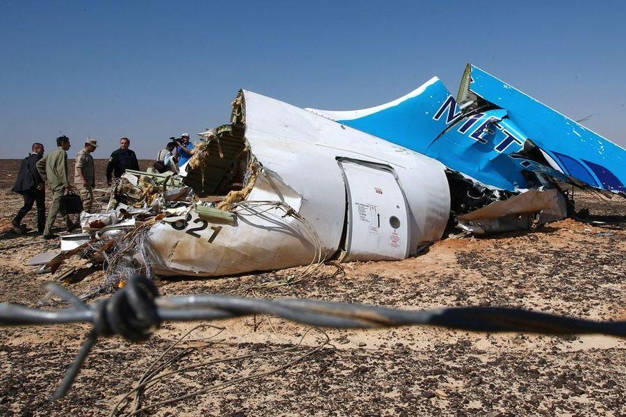 31 octobre. Crash d'un avion russe dans le Sinaï égyptien. L'enquête déterminera qu'il s'agit d'un acte terroriste