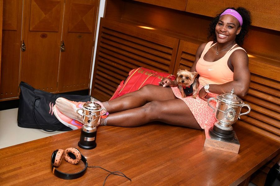 6 juin. Serena Williams remporte Roland-Garros