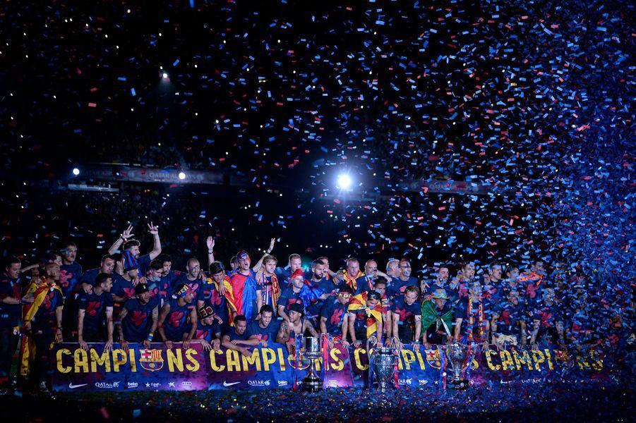 8 juin. Victoire de Barcelone en finale de la Ligue des Champions de football