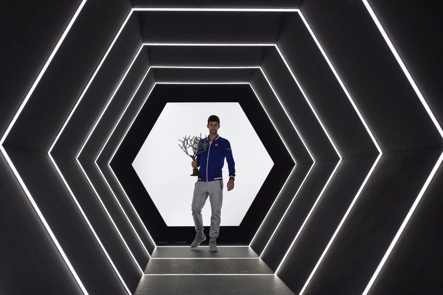 8 novembre. L'indestructible Novak Djokovic remporte les Masters de tennis