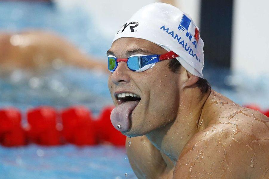 Début août. Florent Manaudou remporte trois médailles d'or aux championnats du monde à Kazan, en Russie