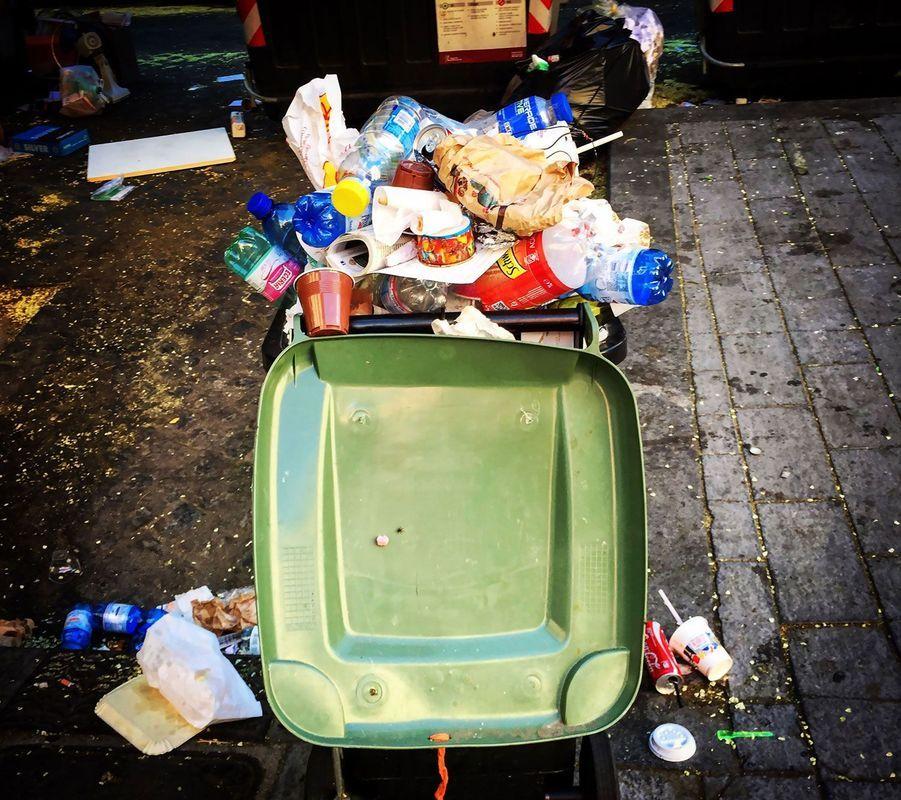 Le déclin de Rome, empire des ordures