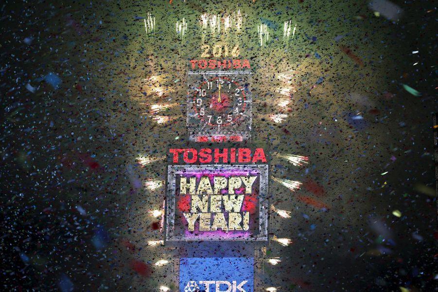 Célébrations de la nouvelle année 2016 à New York (Etats-Unis)