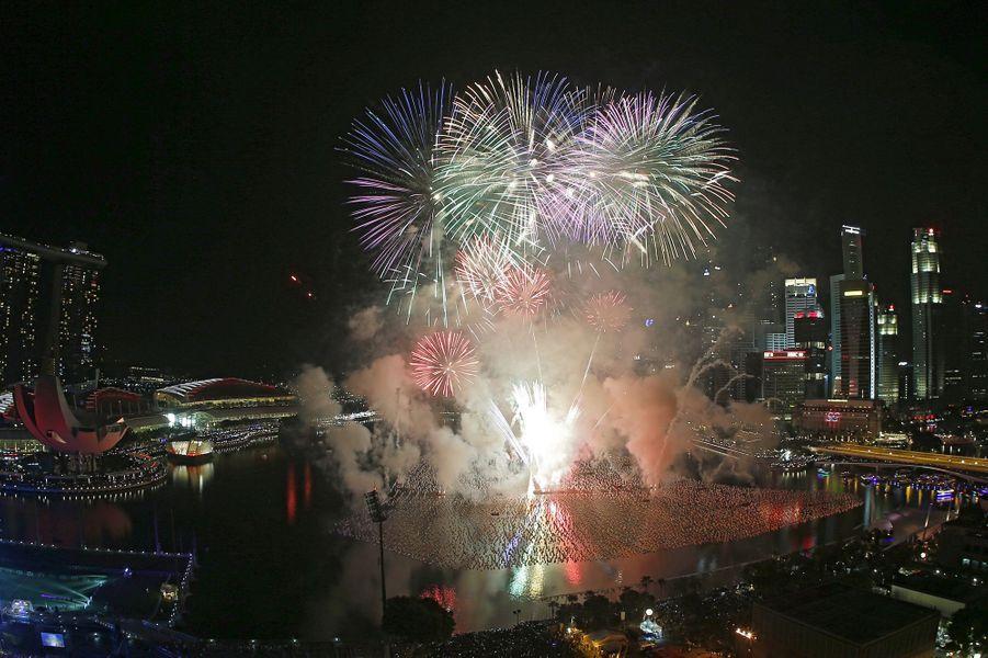 Célébrations de la nouvelle année 2016 à Singapour