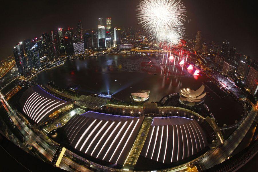 A Singapour