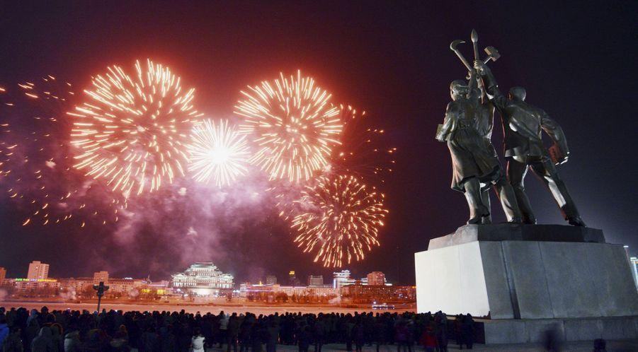 La place Kim Il-sung à Pyongyang, en Corée du Nord