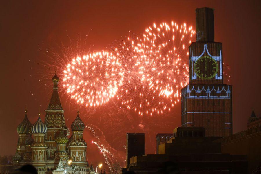 La place rouge, à Moscou, en Russie