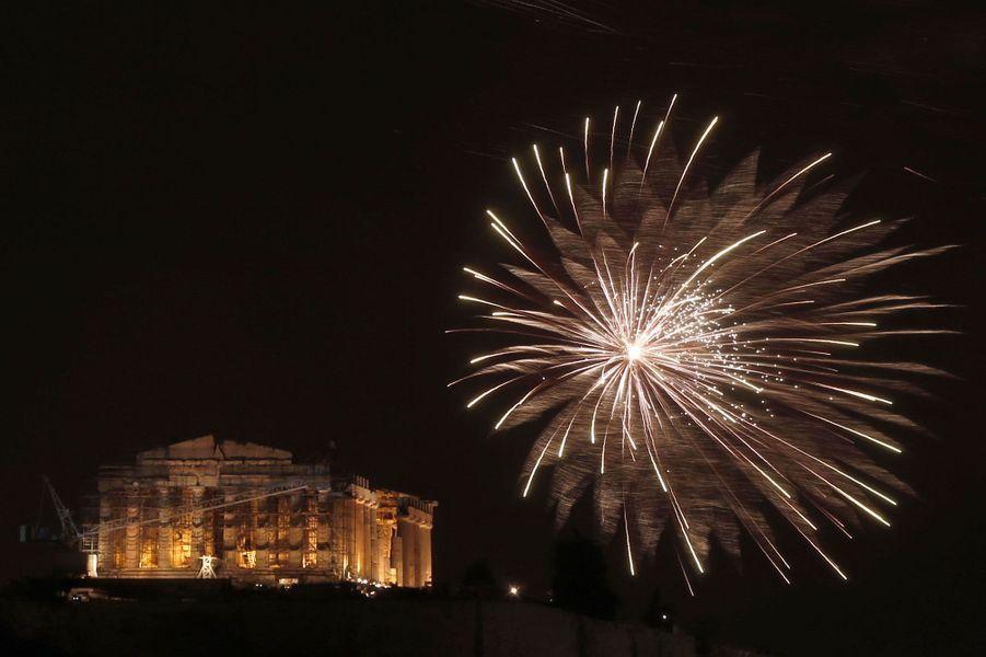 Le Parthénon à Athènes, en Grèce