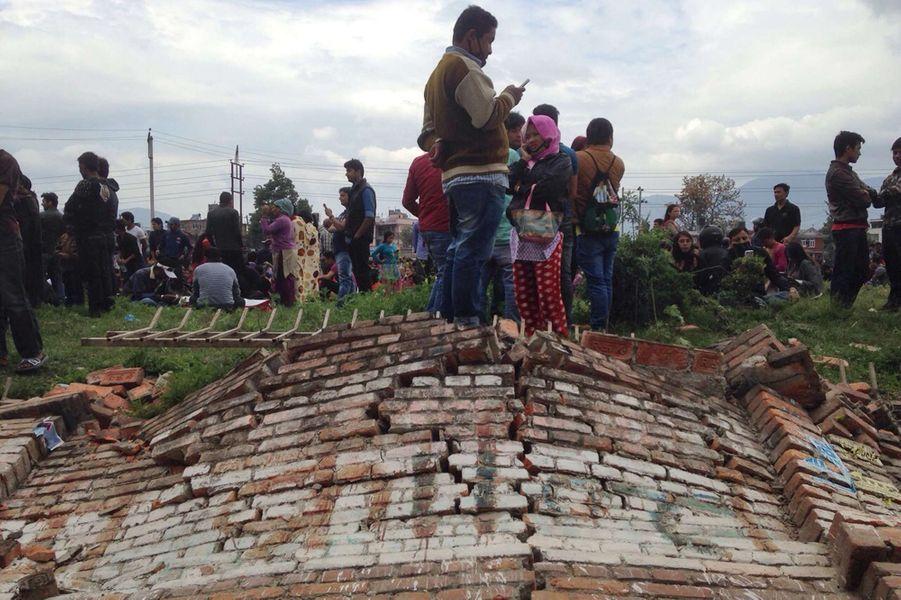 Puissant tremblement de terre au Népal