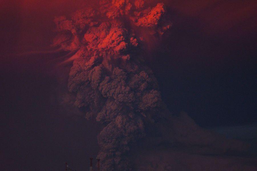 Le réveil du volcan Calbuco