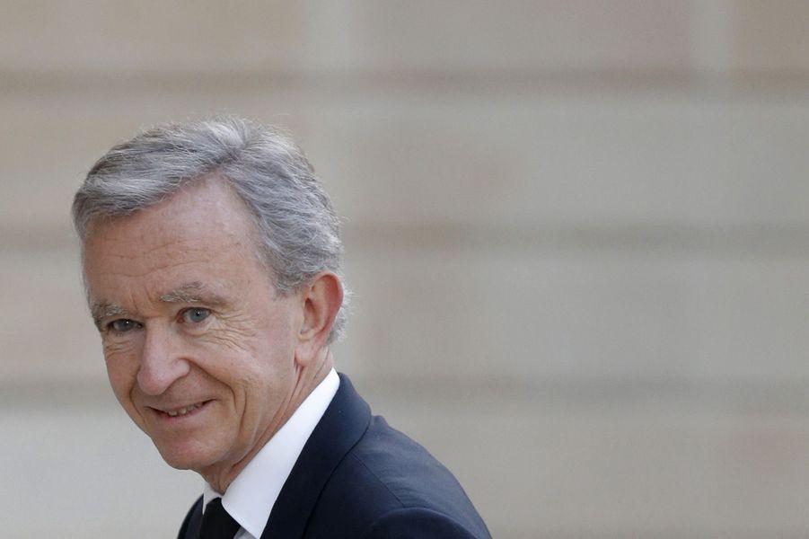14ème: Bernard Arnault (LVMH): 34 milliards de dollars
