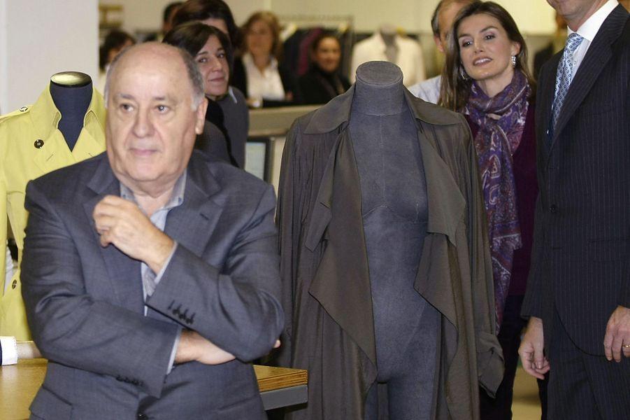 2ème: Amancio Ortega (Inditex): 67 milliards de dollars