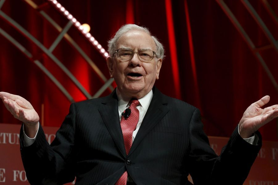 3ème: Warren Buffett: 60,8 milliards de dollars