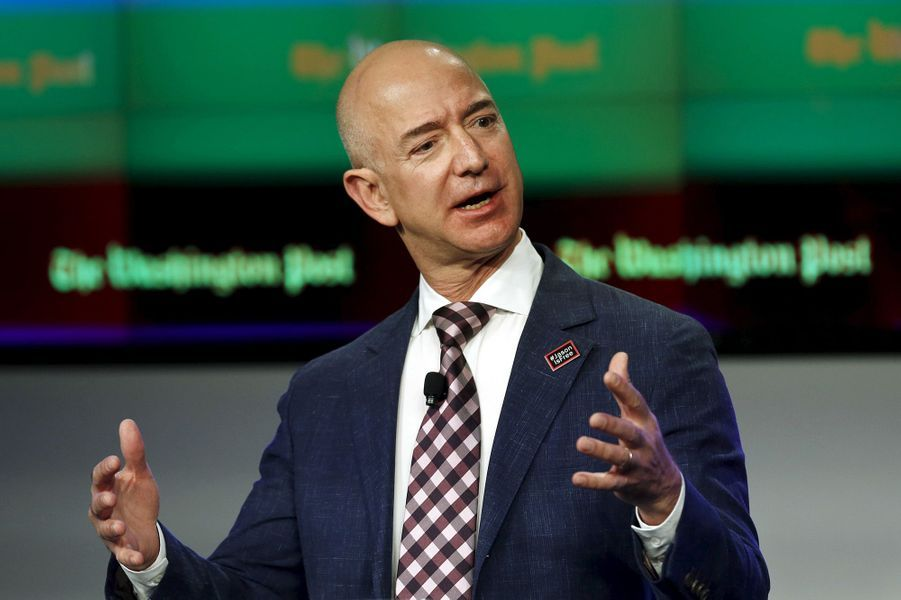 5ème: Jeff Bezos (Amazon): 45,2 milliards de dollars